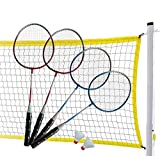 MD Sports Complete 4-Player Badminton Set