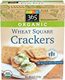 365 Everyday Value, Organic Wheat Square Crackers, 8 Ounce