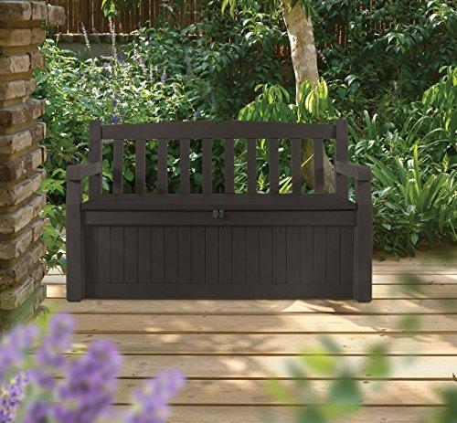 Keter-Eden-70-Gallon-All-Weather-Outdoor-Patio-Storage-Garden-Bench-Deck-Box-BrownBrown