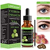 Eyebrow Serum,EyeBrow Enhancing Serum,Eyebrow Growth Serum,Natural Eyelash Growth Enhancer,Boosts Regrowth Prevents Thinning Breakage and Fall Out - Grow Stronger,Fuller,Thicker, Healthier