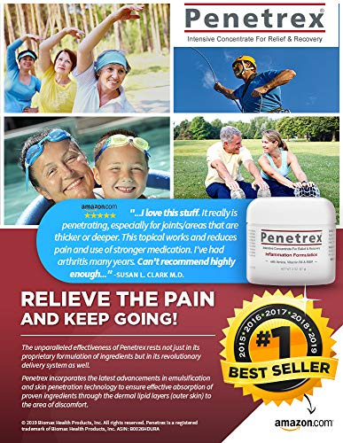 Penetrex Ache Reduction Remedy [2 Oz] – Trusted by 2 Million+ Victims Since 2009. (for Your Again, Neck, Knee, Shoulder, Foot, and so forth.) Protected to make use of with Arthritis Gloves, Again Massagers, Knee Braces, and so forth deal 50% off 61 WQir7x2L