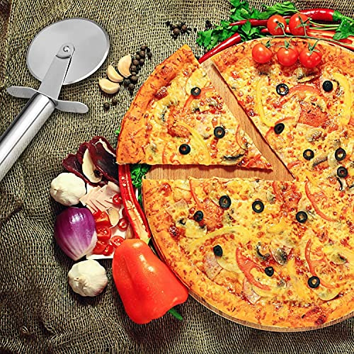 AOQ-Stainless-Steel-Pizza-Cutter-Pastry-Cake-Slicer-Sharp-Wheel-Type