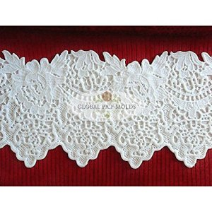 Elegant Lace MOLD 2321, Cake Decorating Supplies, Fondant Mould 61 gYC 2BnDJL