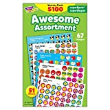 Awesome Assortment: SuperSpots & SuperShapes Stickers Variety Pack, 5100 Stickers