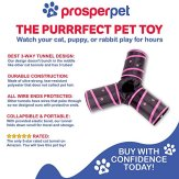 Prosper-Pet-Cat-Tunnel-Collapsible-3-Way-Play-Toy-Tube-Fun-for-Rabbits-Kittens-and-Dogs