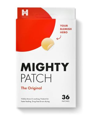 Mighty Patch Original - Hydrocolloid Acne Pimple Patch (36 count) for Face, Vegan, Cruelty-Free