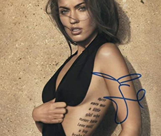 Hot Sexy Megan Fox Signed X Photo Authentic Autograph Proof