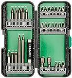Hitachi 115292 30 Piece Drive Set-T Steel