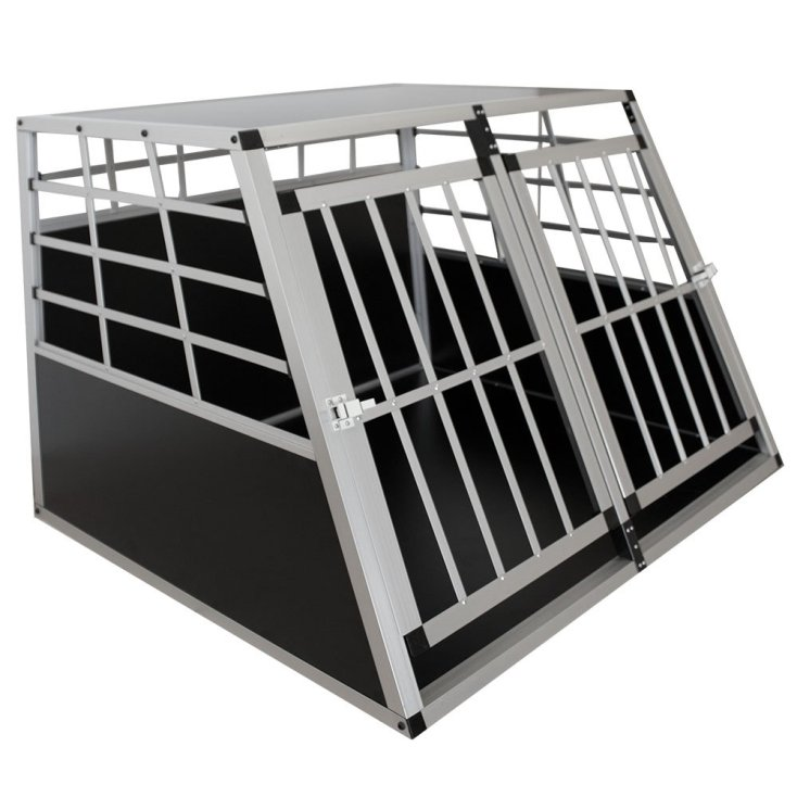 Aluminium Hundetransportbox in 3 Größen Image