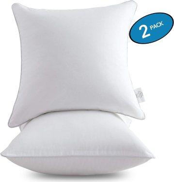 Oubonun Square Interior Sofa Pillow Inserts