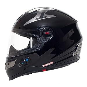 BILT Techno Bluetooth Full-Face Motorcycle Helmet