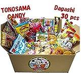 Japanese candy assortment 30pcs , full of dagashi. 'TONOSAMA CANDY'