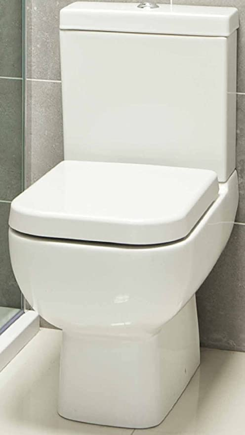 Rak Series 600 Compact Close Coupled Toilet Pan Cistern