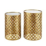 Product review for Linon Nesting Table in Gold (Set of 2)