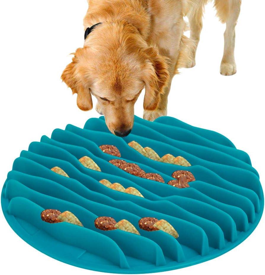 Comedero Perro Gato, Comedero de Perros para ralentizar la Comida
