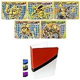 5 Break Pokemon Cards and Totem Mini Binder