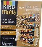 Kind Mini Chocolate Bars Variety Pack, 36 Count (1 Box)