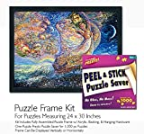 Jigsaw Puzzle Frame Kit - Made to Display Puzzles Measuring 24x30 Inches