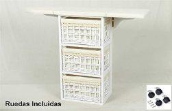 Resultado de imagen de Meyvaser Mueble de Plancha Coimbra Blanco