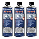 Husqvarna XP Pre-Mixed Fuel and Engine Oil Quart (3 Pack),Blue