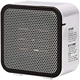 AmazonBasics 500-Watt Ceramic Small Space Personal Mini Heater - White