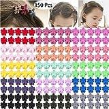150 Pieces Little Baby Girls Hair Bangs Mini Hair Claw Clip Hair Pin Hair Accessories Clips for Girls,Teens, Kids, Toddlers Children