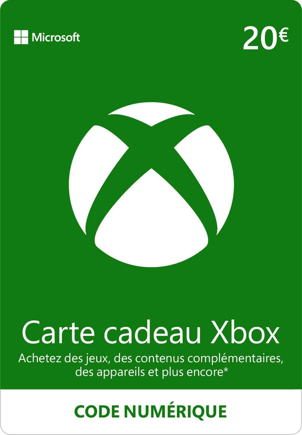 Crédit Xbox Live de 20 EUR [Code Digital - Xbox Live]