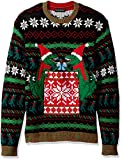 Product review for Blizzard Bay Men's Trex Drink Pocket Crew Neck Ugly Xmas