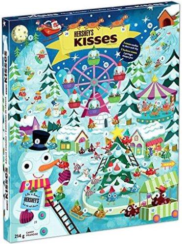 HERSHEY'S Calendrier de l'Avent de Noël et de vacances 214 g