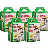 Fujifilm Instax Mini Instant Film, 10 Sheets of 5 Pack × 2 (100 Sheets) - Unauthorized product