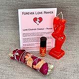 My Lumina Love & Attraction - Come to me Candle Kit - Love Passion Ritual Spell Kit Effective - Vela Roja Atraccion y Endulzamiento para Rituales y Hechizos de Amor