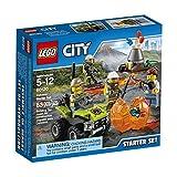 LEGO City Volcano Explorers 60120 Volcano Starter Set Building Kit (83 Piece)