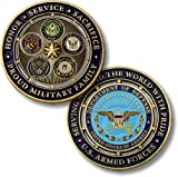 Northwest Territorial Mint Proud Military Family Challenge Coin...