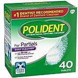 Polident Partials, Antibacterial Denture Cleanser 40 ea (Pack of 2)