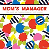 2018 Mom's Manager Large Grid Planning Wall Calendar