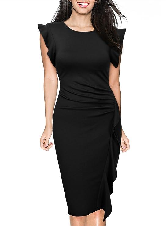 Vestido negro para mujer diseño retrohttps://amzn.to/2Ldxnwy