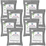 Koolerthings 8 Pack - Bamboo Charcoal Air Purifying Bags Value Pack (8X 200g) Natural Air Fresheners & Odor Eliminators for Home, Pets,Car, Closet, Shoes