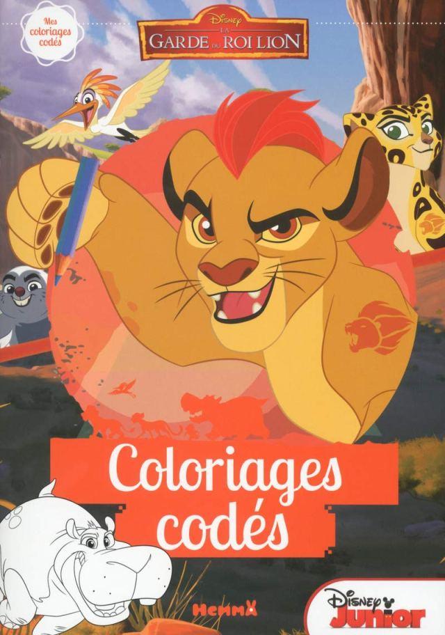 Disney La Garde du Roi Lion Coloriages codés (Coloriages codes