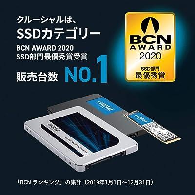 Crucial M.2 SSD P2 パッケージ