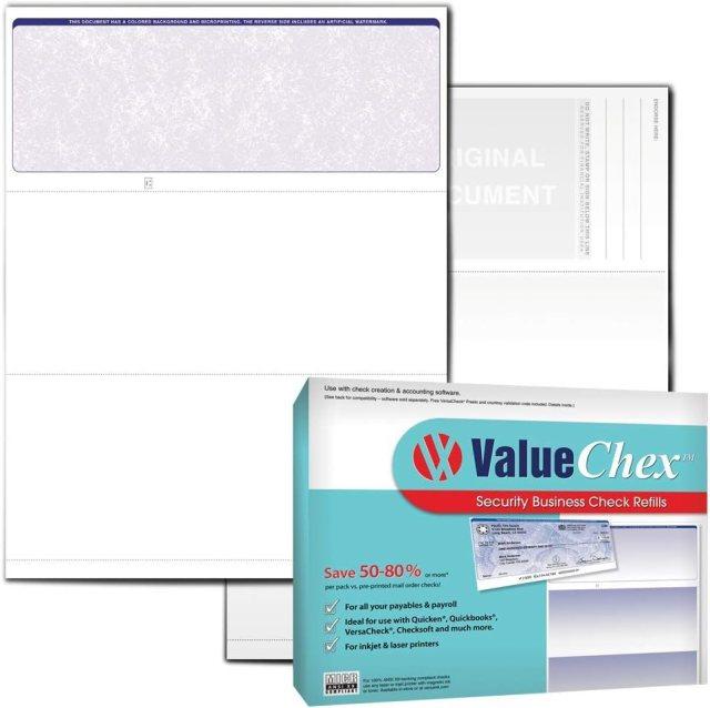 VersaCheck ValueChex - 27 Blank Blue Voucher Selling rankings