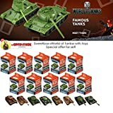Set of 10 Tanks Sweet Box World of Tanks as super surprise eggs