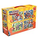 Dc Superfriends 4-in-1 Jigsaw Puzzles Set