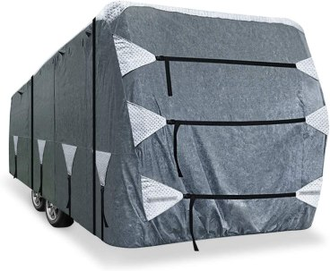 KING BIRD - best RV covers for travel trailers