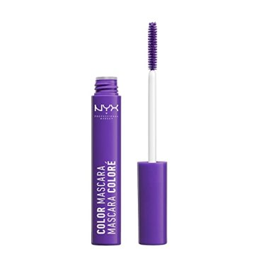 NYX Professional Makeup Color Mascara, Purple, 0.32 Ounce