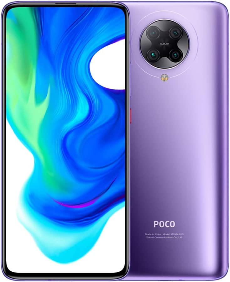 Ισπανικό Amazon | Xiaomi Poco F2 Pro – 6.67 «Smartphone (5 G Super AMOLED Screen, 1082 x 2400 pixels, Qualcomm SM 8250 Snapdragon 865, 4700 mAh, Quad Camera, 8 K Video, 6 GB / 128 GB RAM), Electric Purple [EU version ]