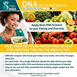 MiaDNA Genetic Home DNA Test Kit for Diet & Nutrition ! Leverage personal genetic testing to uncover your dietary profile and body response to food! Diet plan tailored for you with genetic analysis!