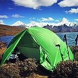 Terra Hiker 2 Person Tent, 4 Seasons Tent with Tent Fly, Tarp for Outdoor Activities