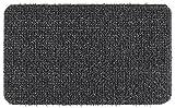 GrassWorx Clean Machine Flair Doormat, 18' x 30', Flint (10372029)