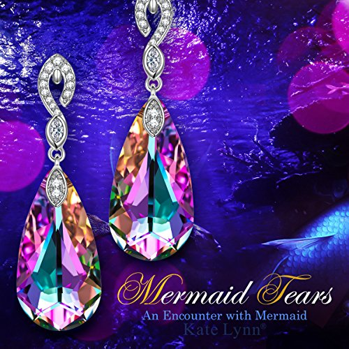 56e9d385e Kate Lynn Swarovski Crystals Waterdrop Earrings Jewelry Gifts for ...