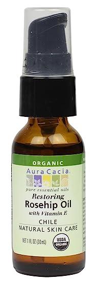 Aura Cacia Organic Rosehip Oil